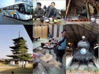 社員旅行の奈良・大阪での一コマです