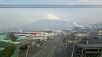 ひかり号からの富士山